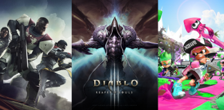 Destiny 2' to 'Diablo 3' to 'Splatoon 2'