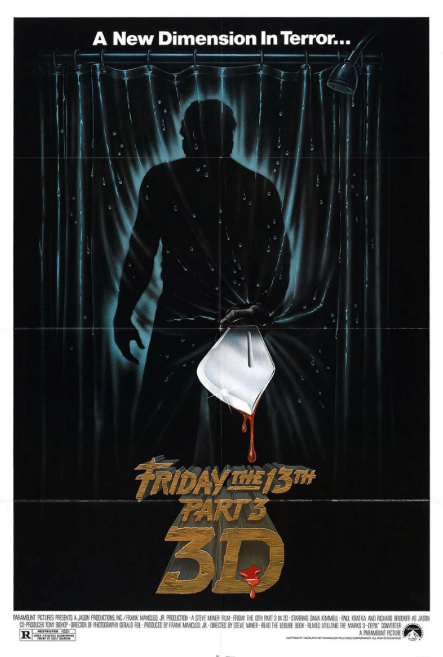 Friday the 13th Part III Poster 1