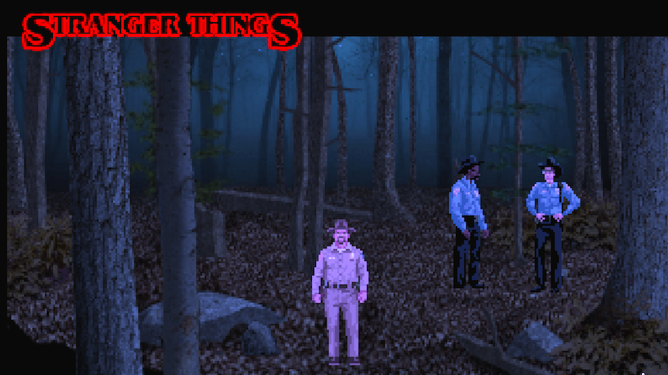 stranger things: teh game