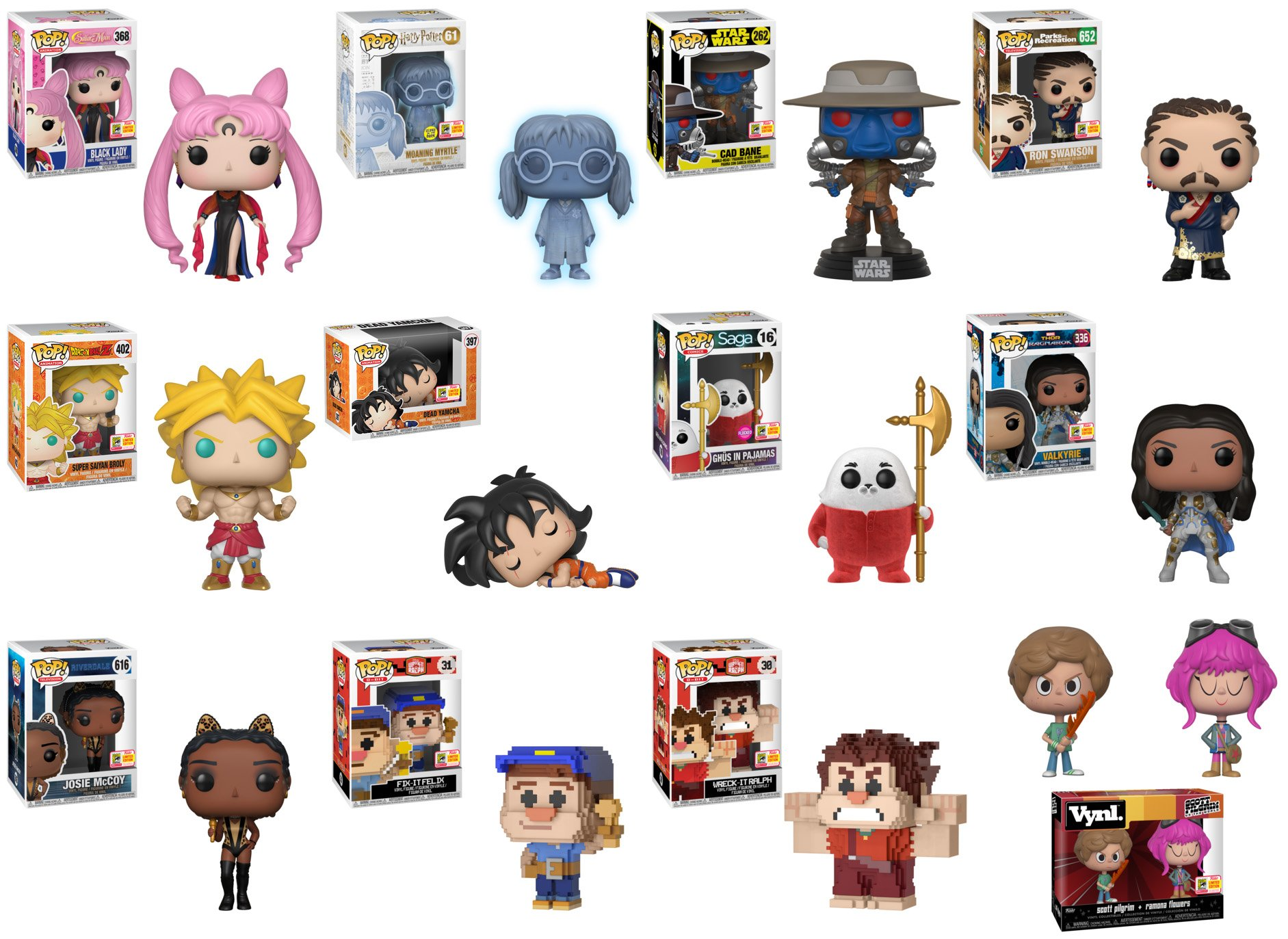 Sdcc 2018 Where To Find Funkos Shared Exclusives Horror Geek Life Funko Pop Comics Hellboy In Suit Fye