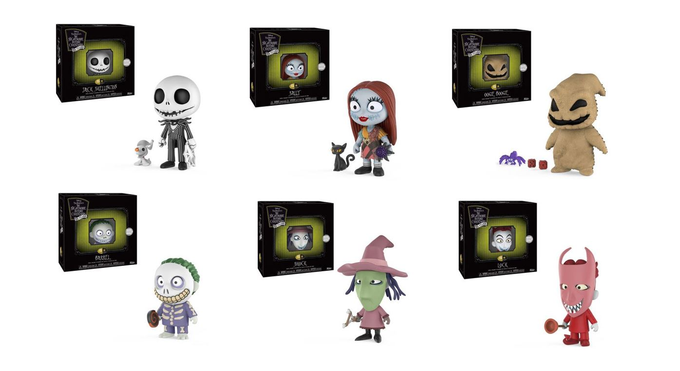 Funko Releasing \'The Nightmare Before Christmas\' 5 Star Figures ...